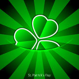 Vector St. Patrick's Day background. Eps 10 Royalty Free Stock Images