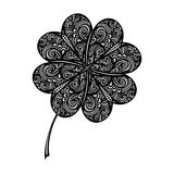 Vector St. Patrick's Day Symbol, Leaf Clower Stock Image