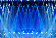 Vector Stage Spotlight Stock Photo