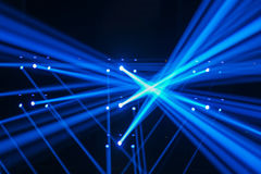 Vector Stage Spotlight Royalty Free Stock Image