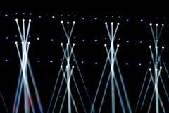 Vector Stage Spotlight Stock Photo