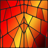 Vector stained glass Stock Photo