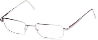 Vector stainless glasses Royalty Free Stock Photos