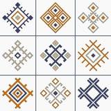 Vector stammeninzameling Stock Foto's