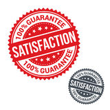 Vector stamp 100% satisfaction guarantee. Use for Royalty Free Stock Image