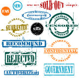 Vector stamps Royalty Free Stock Photo