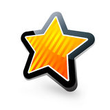 Vector star Stock Photo