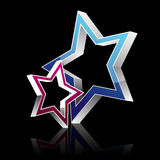 Vector star Royalty Free Stock Image