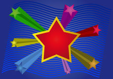 Vector star Royalty Free Stock Images