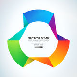 Vector star Stock Image