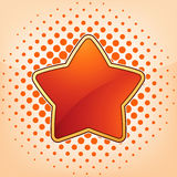 Vector star, abstract design element. EPS 8 Stock Photos