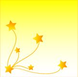 Vector star background Royalty Free Stock Photo
