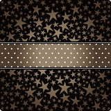 Vector star background design Stock Photography