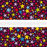 Vector star background design Royalty Free Stock Image