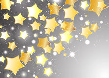 Vector star background design. Clip-art Stock Images