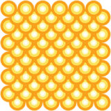 Vector. Star based abstract tile pattern 7. Vector. Circle based abstract tile pattern 7 royalty free illustration