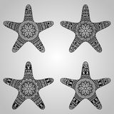 Vector Star Collection Stock Images