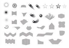 Vector star design elements Stock Image