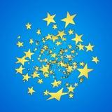 Vector star explosion. Cartoon illustration. Depth of field. Vector star explosion. Cartoon illustration. For web Stock Photography
