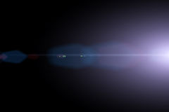 Vector star, sun with lens flare Stock Photography