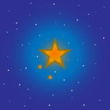 Vector star for your background. Vector image star for your background Royalty Free Stock Photo