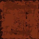 Vector starainny rusty weathered shabby background Stock Photography