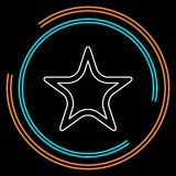 Vector Starfish icon, Sea star vector illustration
