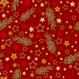 Vector stars and laurel background, holiday 23 february pattern and 9 may victory day. Eps-8 Royalty Free Stock Photo
