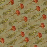 Vector stars and laurel background, holiday 23 february pattern and 9 may victory day. Eps-8.  Stock Photo