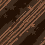 Vector Stars and Stripes seamless pattern Royalty Free Stock Image