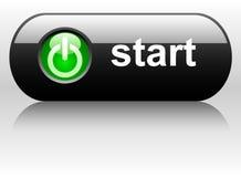 Vector start button vector illustration