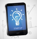 Vector start up concept Stock Photo
