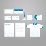 Vector stationery corporate identity template Royalty Free Stock Images