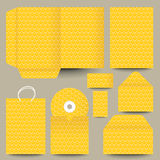 Vector stationery design Royalty Free Stock Photos