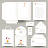 Vector stationery design Stock Photography