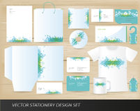 Vector stationery design set Royalty Free Stock Photos