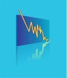Vector statistics Stock Image