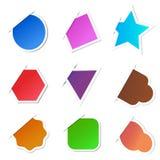 Vector Sticker Stock Afbeelding