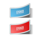Vector Sticker Collection Royalty Free Stock Image