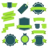 Vector Stickers And Badges Set 10. Flat Style. Stock Photography