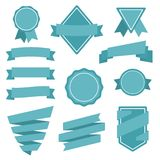 Vector Stickers and Badges. Flat Style. This is file of EPS10 format Stock Photography