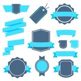 Vector Stickers and Badges Set 4. Flat Style. Stock Photography