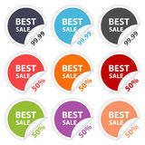 Vector stickers best sale. Design elements. Royalty Free Stock Photo