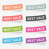 Vector stickers best sale. Design elements. Royalty Free Stock Photos