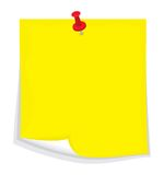 Vector sticky note Royalty Free Stock Photo