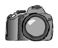 Vector still camera Royalty Free Stock Images