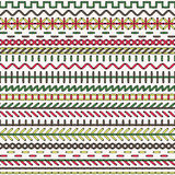 Vector stitch seamless pattern Royalty Free Stock Photo