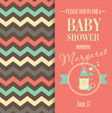 Vector stock illustration of baby shower Stock Photo