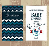 Vector stock illustration of baby shower Stock Photography