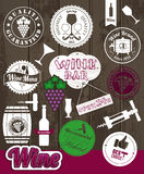 Vector Stock Illustration Of Wine Stock Image